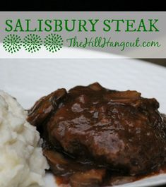 Salisbury Steak from TheHillHangout.com