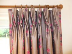 Double Pleated Curtain Interiors, Curtains, Home Decor, Blinds, Decoration Home, Room Decor, Draping, Decor, Home Interior Design