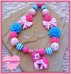 Hey, I found this really awesome Etsy listing at https://www.etsy.com/listing/175384494/my-little-pony-necklace-pinkie-pie