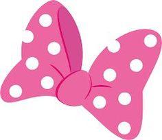 Minnie Mouse Bow Template Printable | Minnie Bow clip art   vector