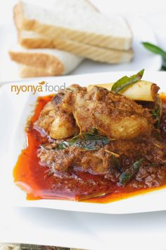 Chicken curry is made with bone-in chicken traditionally, and curry leaves are…