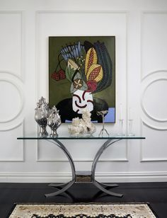 Woollahra House | Greg Natale. Panelling. I want this on my door (go with something simpler inside).