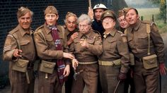 You have been watching Arthur Lowe, John le Mesurier, and the original BBC stars of Dad's Army. Uk Tv Shows, Great Tv Shows, John Le Mesurier, John Laurie, Dad's Army, Home Guard, Bbc Two, Classic Comedies, British Comedy