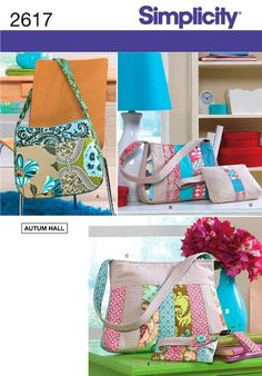 Simplicity Sewing Pattern 2617 Accessories, One Size:Amazon:Arts, Crafts & Sewing