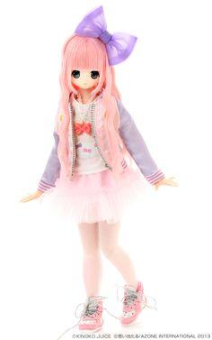 EX Cute x Kinoko Juice Sweet Dream Chiika (Fashion Doll) Item Pretty Dolls, Beautiful Dolls, Manga, Doll Japan, Kawaii Doll, Cute Cartoon Girl, Dream Doll, Asian Doll, Anime Dolls