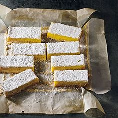 Lemon-Lavender Bars Recipe - Delish.com