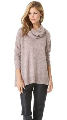 Joie Yasemin Sweater -- love the cowl neck look