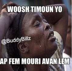 Haitian exaggeration meme