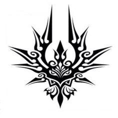 Please don't use design without permission Cool Symbols, Magic Symbols, Glyphs Symbols, Tribal Tattoo Designs, Tribal Tattoos, Body Art Tattoos, Cool Tattoos, Stammestattoo Designs, Magic Circle