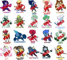 PayPal Poke-Themed Chibi Gem Adopts (1/20 OPEN) by XombieJunky on DeviantArt