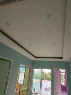 Plafon Rumah Sederhana : plafon, rumah, sederhana, Desain, Plafon, Ideas, House, Ceiling, Design,, Design, Bedroom,, Modern