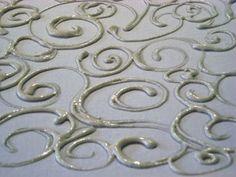 flour paste batik dying technique {excellent tutorial: Batik is a resist method of fabric dyeing that uses wax}