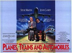 Plains, Trains, and Automobiles - Que the classic Hughes No speaking just 'slow 80s pop' Montage of reflection.