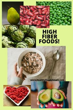 Know what foods are high fiber - for your health, digestion and to help lower your cholesterol.  #cholesterol #healthyLife
