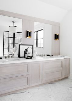 New Light Wood Bathroom Vanity Sconces Ideas Bathroom Wall Cabinets, Bathroom Wall Lights, Wood Bathroom, Budget Bathroom, Bathroom Renovations, Bathroom Interior, Design Bathroom, Bathroom Lighting, Wood Cabinets