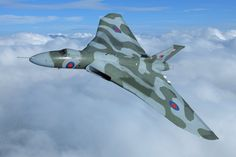 The Vulcan bomber. Puts the 'V' in V wing ...