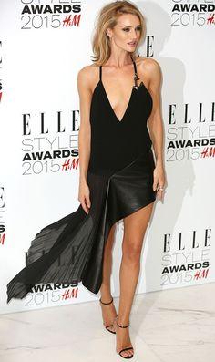 Роузи Хантингтон-Уайтли на церемонии вручения премии Elle Style Awards 2015