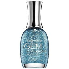 Sally Hansen - Gem Crush Nail Color in Bling-tastic Sparkle Outfit, Glitter Outfit, Nail Polish Hacks, Glitter Nail Polish, Nail Polishes, Sally Hansen, Love Nails, Nail Colors, Crushes
