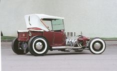 """The custom hot rod Ivo T was created by actor/racer """"TV"""" Tommy Ivo in the 1950s."""