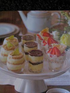 Mini Tea Desserts