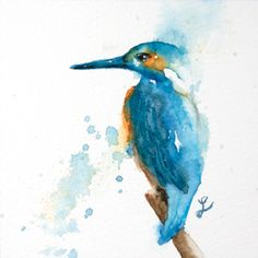 Book Page Crafts, Bird Sketch, Watercolor Bird, Kingfisher, Color Azul, Book Pages, Beautiful Day, Christmas Cards, Projects To Try