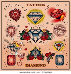 I want on of these !!!! DIAMOND TATTOO !!!
