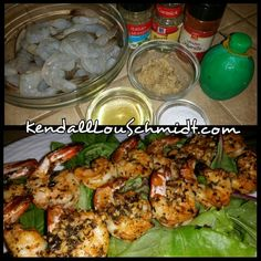 WEEKLY RECIPE: GARLIC AND HERB SHRIMP #GlutenFree #GrainFree #DairyFree #SugarFree #LowCalorie #LowCarb #LowSodium #AllNatural #Paleo #HighProtein #LowFat A quick and easy recipe to spice up a summer barbecue. These shrimp are just the slightest bit sweet and packed with a ton of delicious flavor, An excellent way to enjoy shrimp! NUTRITION FOR AN 8OZ SERVING (18 MEDIUM SHRIMP): CAL 260 FAT 7.8G CARB 6G PROT 40G NUTRITION FOR A 4OZ SERVING (9 MEDIUM SHRIMP): CAL 130 FAT 3.9G CARB 4G PROT 20G…