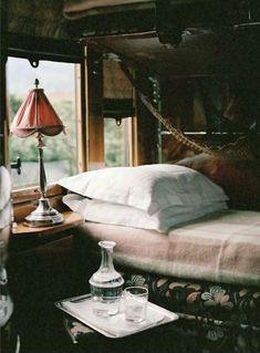 @Sarah Arnold - This is what the inside of my little camper looks like, in my head.  You?