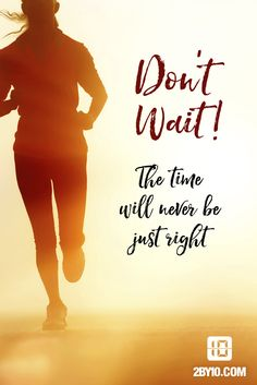 The time will never be just right. #health #fitness #fit #dedication #workout #hiit #intervaltraining #motivation #healthy #determination #exercise Fitness Motivation, Fitness Quotes, Daily Motivation, Weight Loss Motivation, Fitness Tips, Health Fitness, Motivation Pictures, Running Inspiration, Motivation Inspiration
