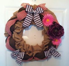 Spring Wreath - Everyday Wreath - Front Door Wreath - Summer Wreath - Springtime Wreath - Spring Decor - Easter Decor - Summer Decor (74.99 USD) by ElsiesCreativeDesign