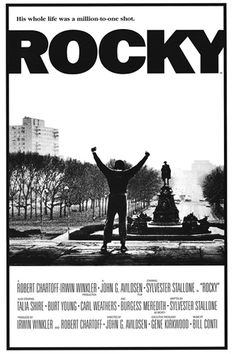 Rocky, famous movie filmed and based out of Philadelphia