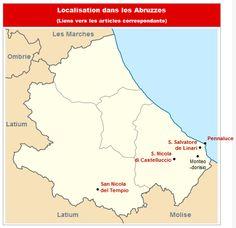 Commanderies templières dans les Abruzzes, Italie