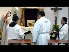 Mira un pequeño recuerdo de la consagración de nuestra Capilla del Santísimo