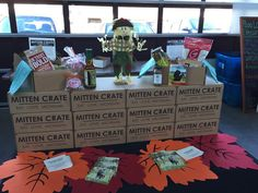 So many awesome businesses at #AllThingsDetroit in @EasternMarket! Check out Michigan Crate's subscription service!