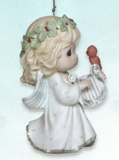 Precious Moments Let Heaven and Nature Sing Ornament $25.00 via CollectibleShopping.com Click image to buy