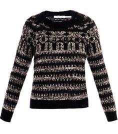 Gladys Mohair Jacquard Sweater by Isabel Marant Etoile   #Matchesfashion