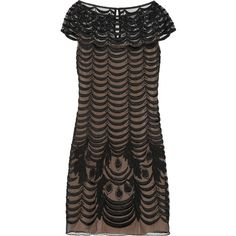 Temperley London Wave embroidered tulle shift dress and other apparel, accessories and trends. Browse and shop 2 related looks.