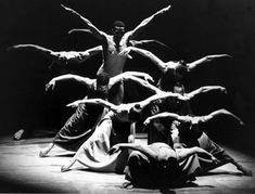 "Alvin Ailey Dance Troupe doing the famous ""Revelations"""