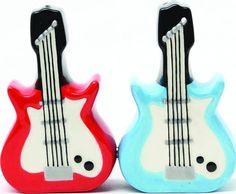 Dueling Guitars - Salt & Pepper Shakers