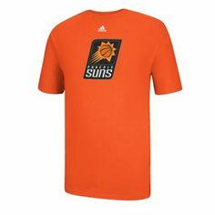 df73058d8 adidas Phoenix Suns 2013 New Primary Logo T-Shirt - Orange