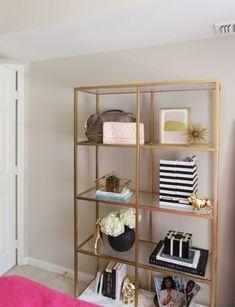 100+ DIY Bookshelf Plans and Ideas For Every Space, Style and Budget Ikea Shelves Bedroom, Ikea Shelf Hack, Ikea Bookcase, Etagere Bookcase, Kids Room Bookshelves, White Bookshelves, Crate Shelves, Display Shelves, Glass Shelves