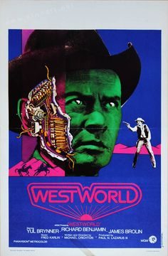 Westworld (Michael Crichton, 1973) Belgian design by J. Gommers