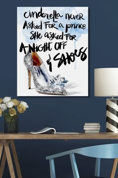 Cinderella's Night Off Canvas Art on @HauteLook