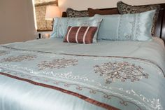 This is one of our standard bedding packages.