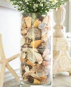 Si no sabes que hacer con las conchas de la playa.