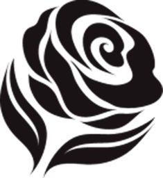 Трафареты розы своими руками