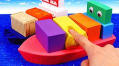 Learn Colors Kinetic Sand Rainbow Cargo Ship Mad Mattr Boat for Kids Kinetic Sand, Learning Colors, Mad, Rainbow, Ship, Youtube, Rain Bow, Rainbows, Ships
