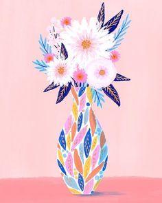 Process Art, Different, Beautiful Flowers, Bloom, Neon, Floral, Happy, Flower Paintings, Instagram