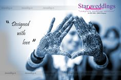 Dreams of the ‪#‎heart‬ are being etched on the ‪#‎palms‬, It is the colour of Mehendi, colour of Passion and submission. Get us for ‪#‎Attractive_Mehandi‬ Designs ‪#‎StarWeddings‬ We are the ‪#‎Superstar‬ in weddings call us at +919600006335 to hire us / visit www.starweddings.in