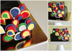Colorful cake by Lume Brando, via Flickr